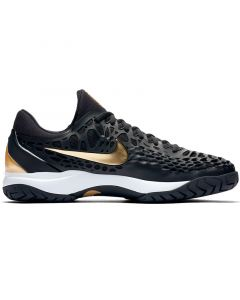 CHAUSSURES HOMME NIKE AIR ZOOM CAGE 3 HC 918193 012 NOIR OR