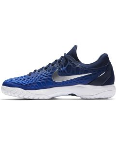 CHAUSSURES DE TENNIS JUNIOR NIKE AIR ZOOM CAGE 3 HC 918193 440 BLEU