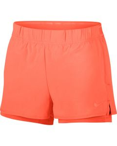 SHORT FEMME NIKE COURT FLEX 939312 809 ORANGE