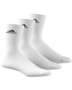 CHAUSSETTES ADIDAS 3S PER CR HC 3PAIRES AA2297 BLANC