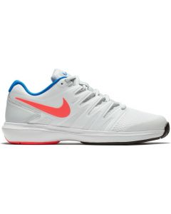 CHAUSSURES DE TENNIS FEMME NIKE AIR ZOOM PRESTIGE HC AA8024 164 BLANC/ORANGE/BLEU