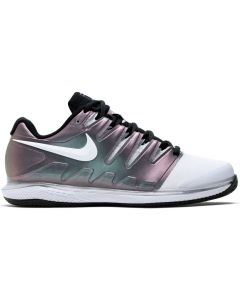 CHAUSSURES DE TENNIS FEMME NIKE AIR ZOOM VAPOR X CLAY AA8025 900 BLANC/MULTI-COLOR/NOIR