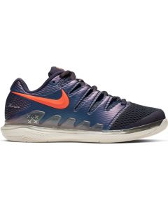 CHAUSSURES DE TENNIS FEMME NIKE AIR ZOOM VAPOR X AA8027 005 GRIS/MULTI-COLOR
