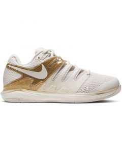 CHAUSSURES FEMME NIKE AIR ZOOM VAPOR X AA8027 007 BLANC OR