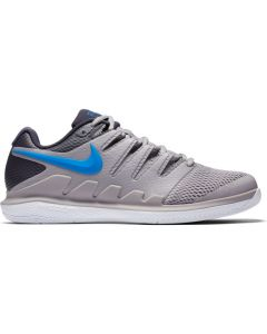 CHAUSSURES DE TENNIS JUNIOR NIKE AIR ZOOM VAPOR X  AA8030 002 GRIS/BLEU