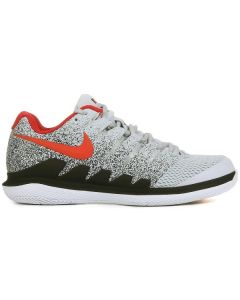 CHAUSSURES DE TENNIS JUNIOR NIKE AIR ZOOM VAPOR X  AA8030 046 BLANC/NOIR/ROUGE