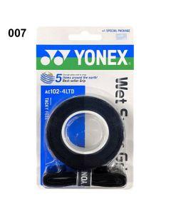 SURGRIP YONEX SUPER GRAP x3 + 1 AC102-4LTD NOIR