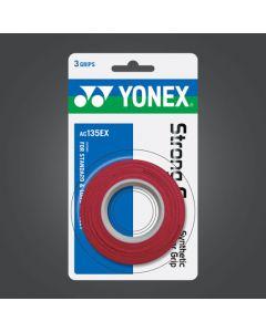 SURGRIP YONEX STRONG GRAP x3 AC135EX ROUGE