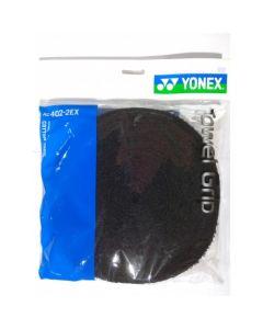 GRIP EPONGE YONEX TOWEL GRIP ROULEAU 12 METRES AC402-2EX NOIR