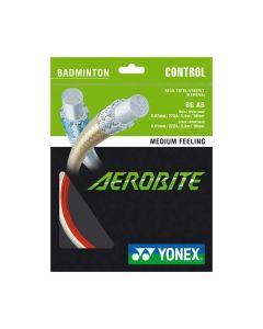 CORDAGE DE BADMINTON YONEX AEROBITE (HYBRIDE 0.67 MONTANT - 0.61 TRAVERS) GARNITURE 10M