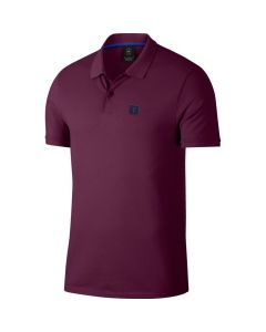 POLO TENNIS HOMME NIKE RF COURT AH6762 609 BORDEAUX