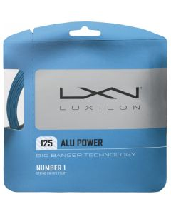 LUXILON BIG BANGER ALU POWER CORDAGE TENNIS GARNITURE 12M -1.25 BLEU - 1.25