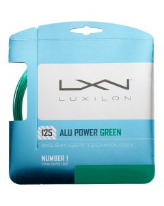 LUXILON BIG BANGER ALU POWER CORDAGE TENNIS GARNITURE 12M -1.25 VERT - 1.25