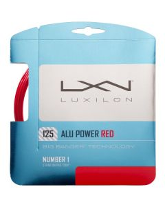 LUXILON BIG BANGER ALU POWER CORDAGE TENNIS GARNITURE 12M -1.25 ROUGE