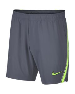 SHORT HOMME NIKE COURT DRY FIT RAFA AO0277 075 GRIS/FLUO