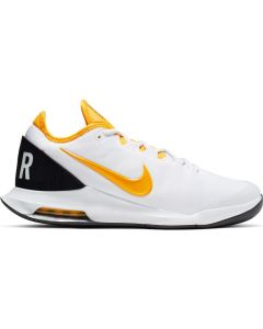 CHAUSSURE DE TENNIS HOMME NIKE AIR MAX WILDCARD HC AO7351 101 BLANC/ORANGE