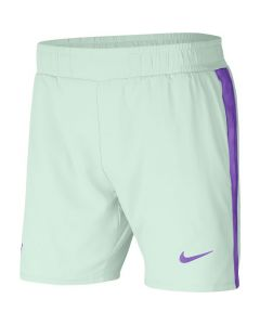 SHORT HOMME NIKE COURT DRI FIT RAFA AT4315 394 VERT