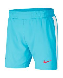 SHORT HOMME NIKE COURT DRI FIT RAFA AT4315 445 BLEU
