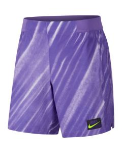 SHORT HOMME NIKE COURT FLEX ACE AT4319 550 VIOLET