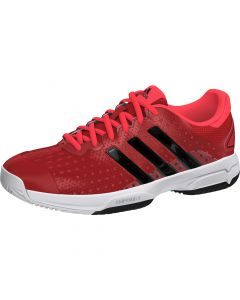 CHAUSSURES DE TENNIS JUNIOR ADIDAS BARRICADE TEAM 4 XJ B34276 ROUGE/NOIR