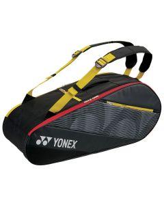 THERMOBAG YONEX ACTIVE RACQUET BAG 82026 NOIR/JAUNE X6