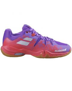CHAUSSURE BADMINTON FEMME BABOLAT SHADOW SPIRIT 31S2004 ROSE