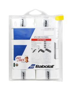 SURGRIP BABOLAT VS ORIGINAL x12 654010 101 BLANC