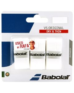 SURGRIP BABOLAT VS ORIGINAL x3 653040 101 BLANC