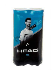 BI PACK BALLES HEAD PRO BLUE TUBE DE 4 BALLES