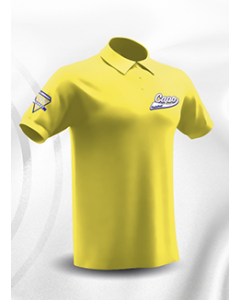 POLO HOMME/JUNIOR 100% SUBLIME CAPO LIMOGES JAUNE 100% Polyester