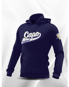 SWEAT CAPUCHE COTON SANS ZIP HOMME/JUNIOR CAPO LIMOGES BLEU