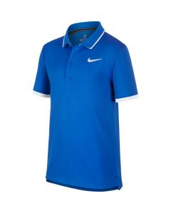 POLO JUNIOR NIKE COURT DRYFIT BQ8792 403 BLEU