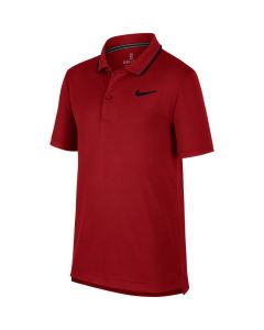 POLO JUNIOR NIKE COURT DRYFIT BQ8792 613 ROUGE