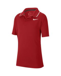 POLO JUNIOR NIKE COURT DRYFIT BQ8792 687 ROUGE