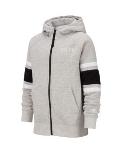 SWEAT NIKE JUNIOR FULL ZIP HOODIE BV3590 050 GRIS