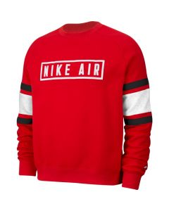 SWEAT HOMME NIKE AIR FLEECE BV5156 050 ROUGE