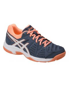 CHAUSSURES DE TENNIS JUNIOR ASICS GEL PADEL PRO 3 GS C505Y 5601 BLEU/ORANGE