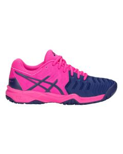 CHAUSSURE DE TENNIS JUNIOR ASICS GEL Resolution 7 GS C700Y 700 ROSE/BLEU