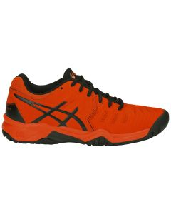 CHAUSSURE DE TENNIS JUNIOR ASICS GEL RESOLUTION 7 GS C700Y 801 BLEU/ROUGE