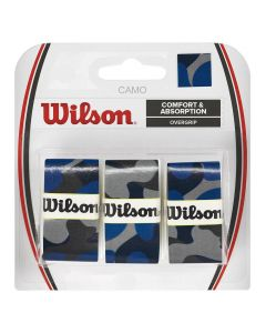 SURGRIP WILSON CAMO PRO OVERGRIP x3 WRZ470840 BLEU