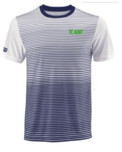 MAILLOT HOMME WILSON TEAM STRIPED CREW TC AIXE