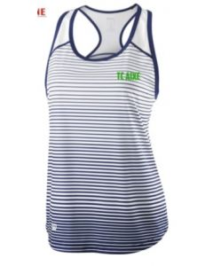 DEBARDEUR FEMME WILSON TEAM STRIPED TANK TC AIXE