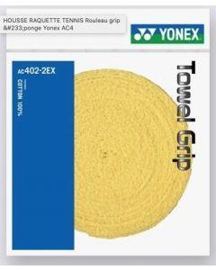 YONEX TOWEL GRIP JAUNE ROULEAU 12 METRES
