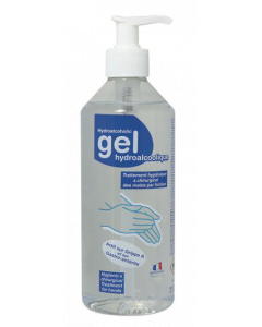 GEL HYDROALCOOLIQUE FLACON 500ml