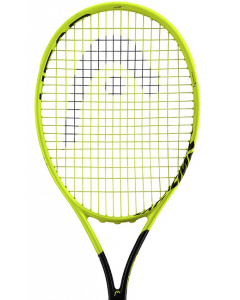 "RAQUETTE DE TENNIS JUNIOR HEAD GRAPHENE 360° EXTREME 26"" JAUNE/NOIR 235328 - T0 (4 US)00"
