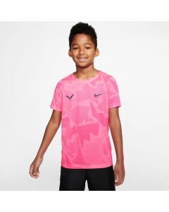 TSHIRT TENNIS JUNIOR NikeCourt Dri-FIT Rafa CD2165 ROSE