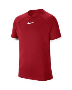 TSHIRT JUNIOR NIKECOURT DRI-FIT CD6131 687 ROUGE