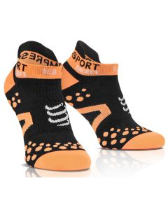 CHAUSSETTE COMPRESSPORT STRAPING DOUBLE LAYER SOCKS LOW CUT