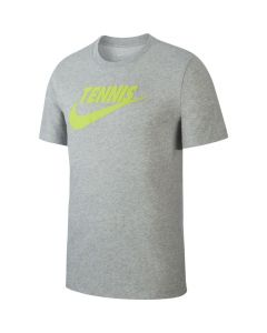 TEE SHIRT HOMME NIKE COURT DRYFIT CJ0429 063 GRIS