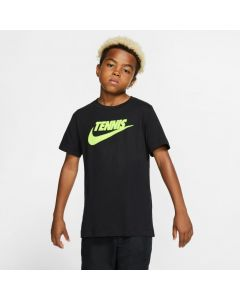 TEE SHIRT NIKE JUNIOR GRAPHIC CJ7758 480 BLEU